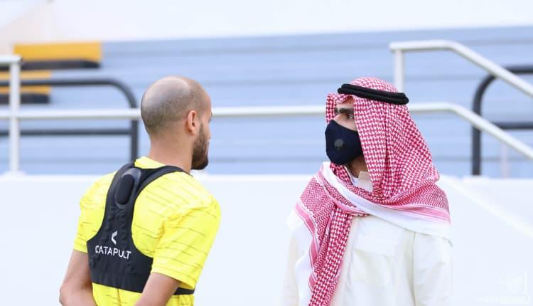 كريم الاحمدي لاعب الاتحاد
